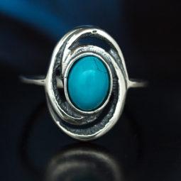 Türkis Ringe